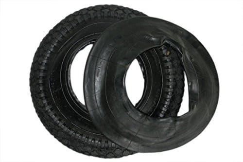Dkb pneu chambre air pour roue de brouette 400 x 100 - Pneu et chambre a air pour brouette ...