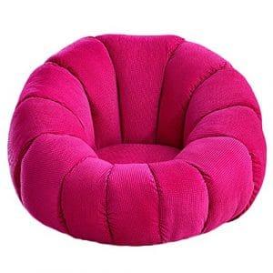 G-Y Sofa Paresseux, Chambre Simple Petit Salon Mode Petit Canapé (linge) ( Couleur : Rouge )