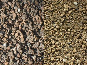 200 kg Substrat pour toiture végétale – sorte 3 – lave / ponce