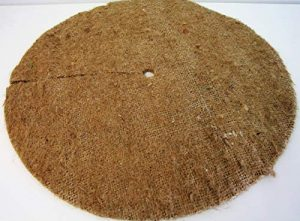 Chimney Sheep Grand Tapis de paillage en Toile de Jute 40cm Arbre Spats Lot de 5