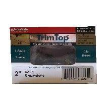 OMG Fastenmaster Fmtt158–75sg Bordure «Top» Pont de en acier inoxydable à vis 7/2–5/20,3cm–Gris ardoise
