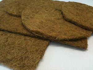 Original Organics biodégradable en fibre de coco Tapis de l'humidité pour Original et tigre Wormeries