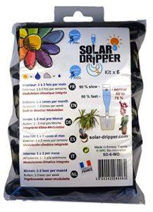 Solar-Dripper Arrosage Automatique Goutte à Goutte Solaire SD par 6