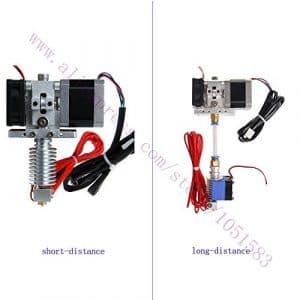 Bhpsu Hotend extrudeuse kit Mendel imprimante 3d Delta Rostock courte et longue distance, 1.75/3mm Filament, 0,3/0,4/0.5mm Buse en option