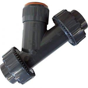 INTERPLAST Clapet Anti-Retour PVC de retenue Ø 63 mm