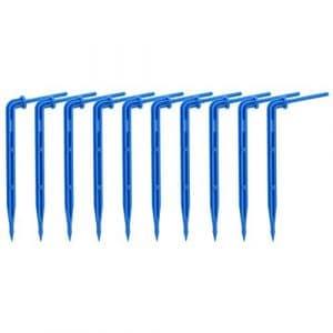 seawang D économie d'eau émetteur Bend Arrow Dripper incurvé arroseurs Micro d'irrigation Type 1