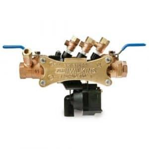Zurn 112–375Wilkins 11/5,1cm 375à pression réduite Principe Assembly