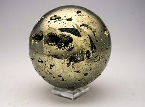 Astro Galerie du Gems Poli Pyrite Sphere–1. 20,4Kilogram