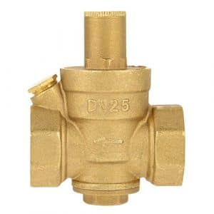 DN25(1″) Soupape De Réduction De Pression D'eau Valve De Régulateur Filtre D'eau En Laiton