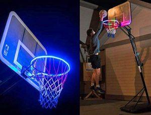 Fatalom – Boucle de Basket-Ball Lumineuse LED étanche – pour Jardin, école et extérieur
