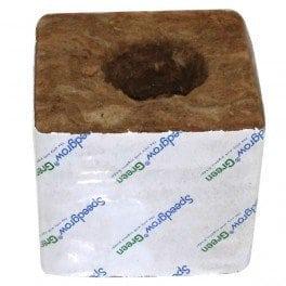 8 cubes de laine de roche 7,5×7,5 cm – SpeedGrow Green