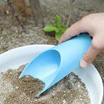 Cratone Plastique Pelle Utilitaire du Sol Pelle à Outils de Jardinage Plante à Seau Helper Succulente Plantation Outils Green