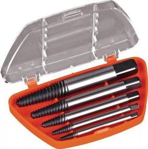 Diager – Coffret 5 extracteurs de vis D. 1 à 5 mm