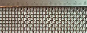 Tamis tissu en acier inoxydable avec maillage de 3 mm d'épaisseur 1 mm 3 m x 1 m