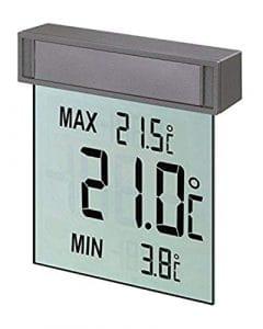 TFA-Dostmann 30.1025″Vision/Thermomètre de fenêtre digital