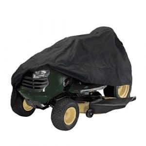 Casavidas 137,2cm Tracteur Coque Jardin Yard d'équitation pour Tondeuse à Gazon Tracteur Housse de Protection Noir