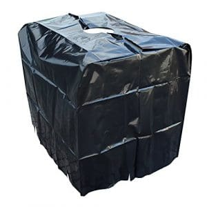 Container IBC Bâche de protection Capôt protecteur Bâche Protection de pluie Citerne d'eau 1000 l