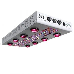Eclairage pour plantes LED élèvent la lumière Dimmable 600W Lampe de plante LED pour la serre cultivent la culture de plantes hydroponiques d'intérieur Plantules légères en croissance