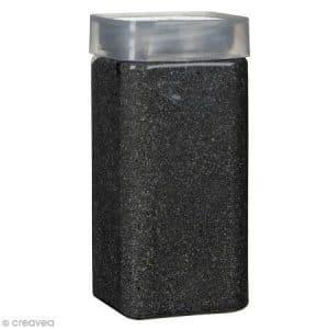 Sable décoratif – Noir graphite – 740 g
