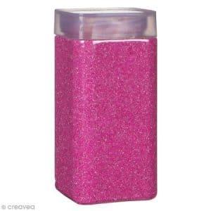 Sable décoratif – Rose bonbon – 740 g