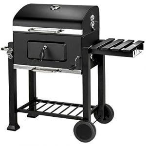 TecTake BBQ GRILL BARBECUE CHARBON DE BOIS FUMOIR – diverses tailles au choix – (Charbon de bois | No. 402174)