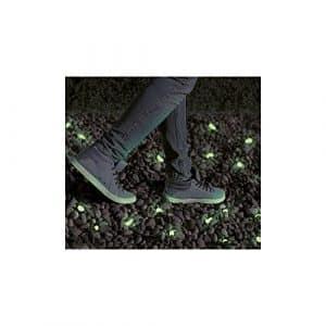 YHANONAL Lot de 100 Pierres Lumineuses pour éclairage de Nuit, Galets Lumineux, Vert Bleu 1,5 à 3 cm, Bleu, 1,5-3,0 cm