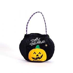 ZYCX123 Halloween Trick Sacs Non-tissé ou Treat Sacs Cadeaux Parti Goodie Sacs fourre-Tout Sac Traiter avec poignées cotillons, Citrouille