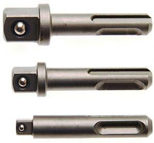 BGS 8214 Jeu d'adaptateurs 3 pièces 80mm