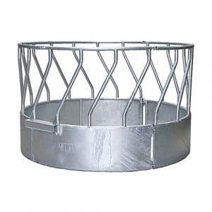 Ratelier circulaire à passage de teteoblique, 18 places, 3 pièces – 303518