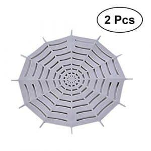 bestonzon Filtre Cheveux en silicone en forme de fleur pour évier Filtre pour coincer cheveux et sale–2pz