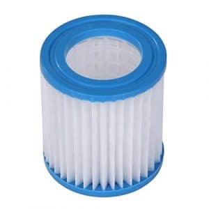 Blueborn C8090 Cartouche filtrante pour Piscine Blanc Ø 8 x 9 cm