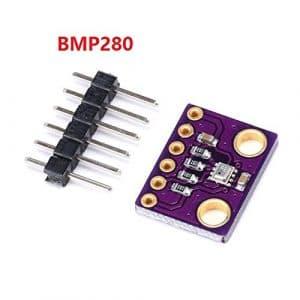 Erduo Module de capteur de Pression atmosphérique GY-BMP280 3,3 V Haute précision – Violet