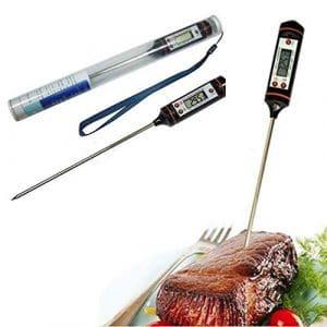 forviupet Barbecue numérique pour barbecue, barbecue, barbecue, barbecue, capteur, outils de cuisine, indicateur de chaleur