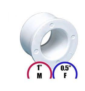 Garden Wellness Réducteur pour Spa 1″ M – 0.5″ F