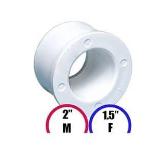 Garden Wellness Réducteur pour Spa 2″ M – 1.5″ F