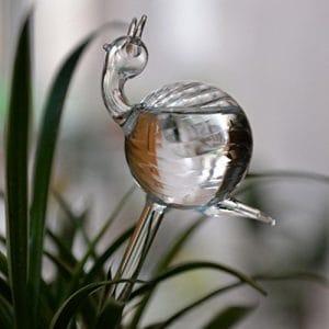 Prevently Plantez des Globes d'arrosage créatif pour Plantes de Jardin, arrosage Automatique d'intérieur Mignon Oiseaux, escargots, Cygne, Claire