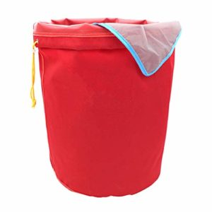 FLAMEER Sac- Glace Herbacé Sac De Mousse à Hachage Huile Sac D'extraction 5 Gallon – Rouge 160 microns