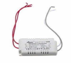 Generic Lampe halogène LED T LED Transformateur d'alimentation électronique 105 W avec Pilote 105 W 12 V 220 V-240 V 05 W 12 V 12 V 2