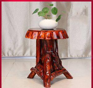 JBP max Stand de Fleurs Salon Simple Couche de Fleurs Stand, Salon, étagère, Racine d'arbre, Art Root Carving, Bonsai-JBP9,A