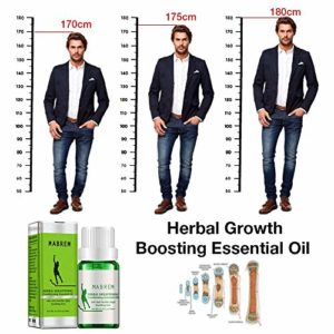 Huaqiang Herbal Heightening Growth Boosting Essential Oil – Moisturizing Promote Cell Division and Bone Growth, Make Your Higher, Soothing Feet Essential Oil