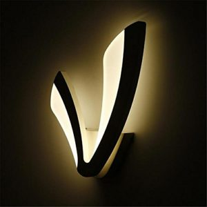 Lampe murale créative à LED Lampe de chevet à la chambre moderne Éclairage du corridor de salon