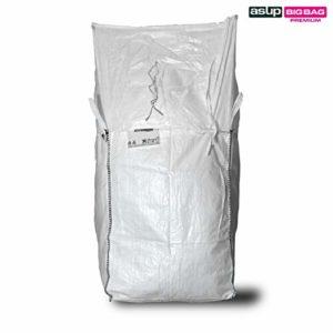 ASUP Big Bag 1-360x 90 x 110 cm Couvercle de tablier SWL 1,250 kg, blanc