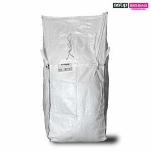 ASUP Big Bag Couvercle pour tablier SWL 1200 kg 90 x 90 x 110 cm, blanc