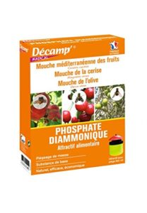 Décamp – Phosphate diammonique contre mouches méditerrannéenes, des fruits et de l'olive