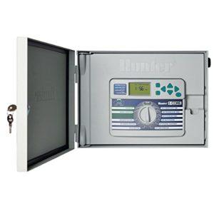 Hunter Arroseur Ic600m I-Core Double contrôleur 48-Station contrôleur Base Ic600m avec Meuble en métal
