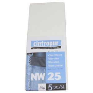 Manchettes filtrantes NW25 pour Cintropur