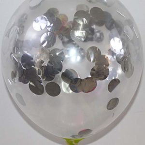 Sunnyday Latex Paillettes Ballons De Confettis Portable Ballons De Soirée Transparent De Mariage Décorations d'anniversaire Parti Décor