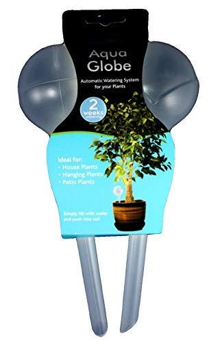 4 x 2 ampoules sphériques en plastique pour arrosage de plantes