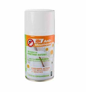 HBM Anti-Moustiques 001-RE-RAC002 Recharge pour Diffuseur Intérieur Automatique Anti Moustique 150 ml