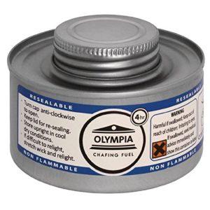 Olympia CB734 Liquides à combustion, 4 h, argent, Lot de 12